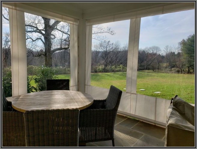 Clear Vinyl Patio Enclosure Weather Curtains