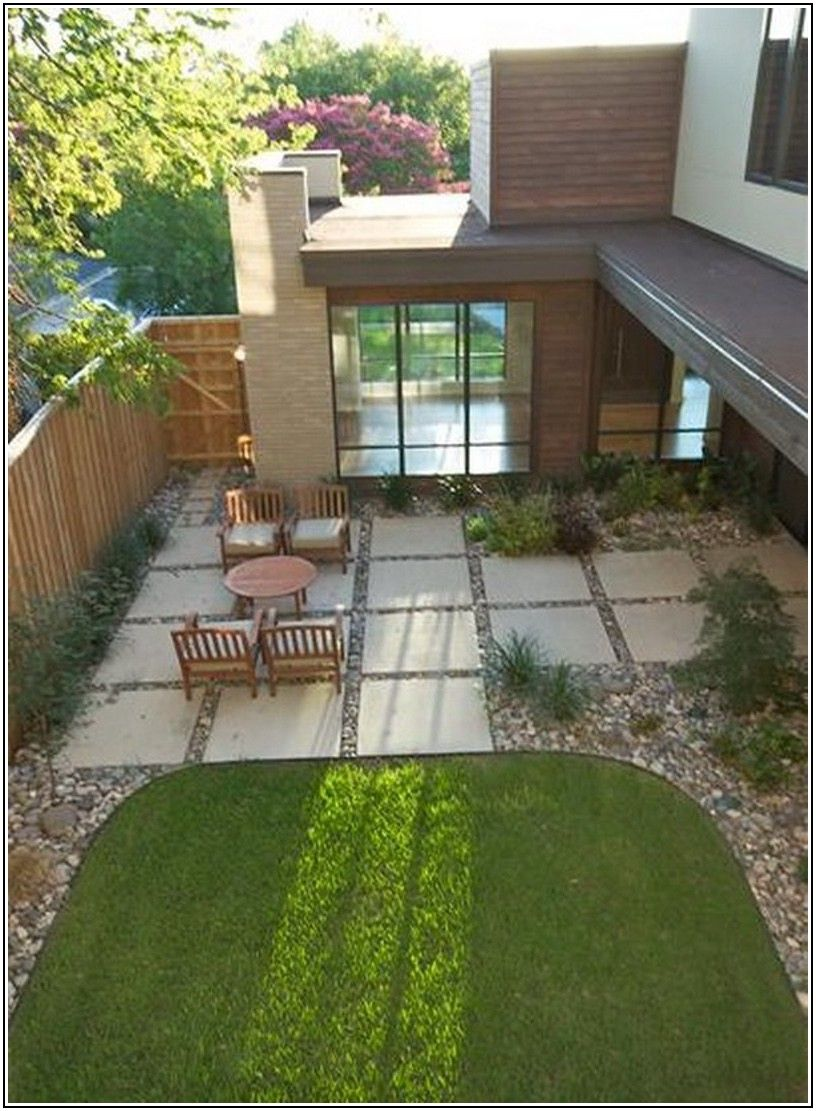 Concrete And Paver Patio Ideas