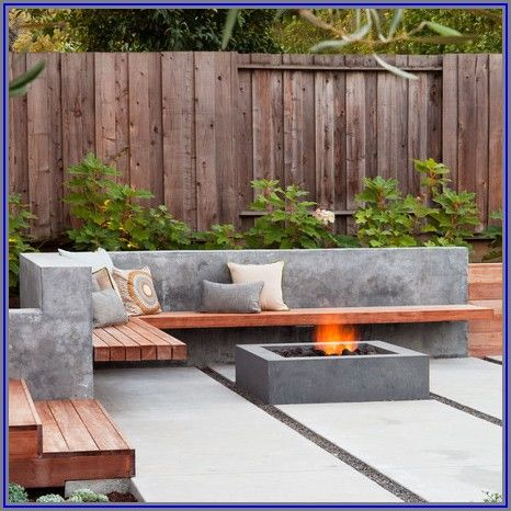 Concrete Outdoor Patio Furniture