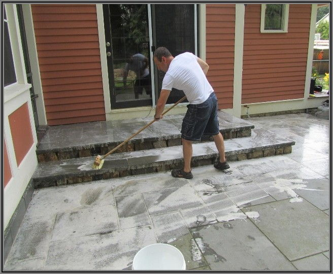 Concrete Patio Cleaning Service