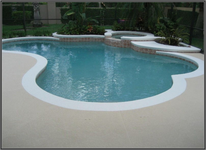 Concrete Pool Patio Paint