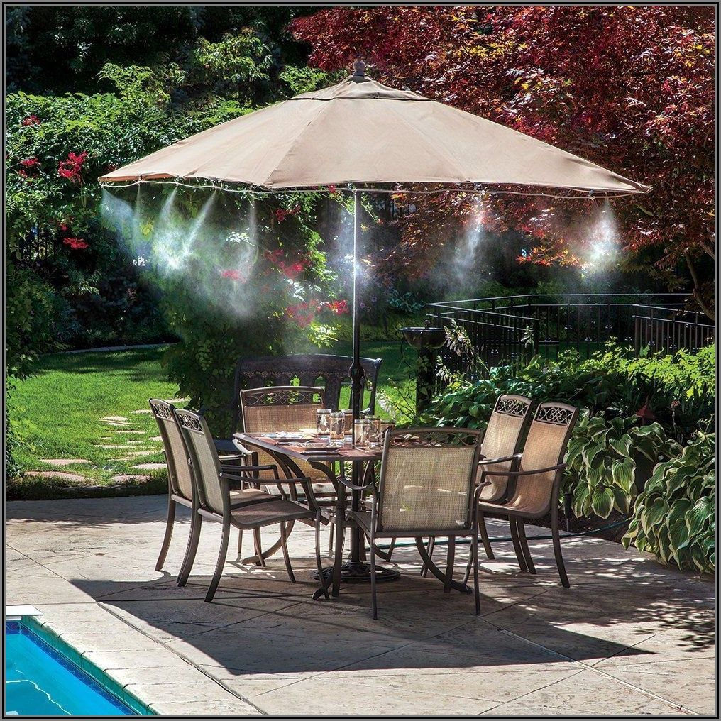 Cool Mist Patio Misting System