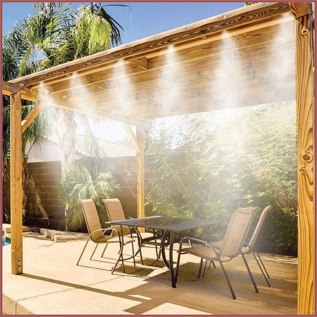 Copper Patio Misting Systems