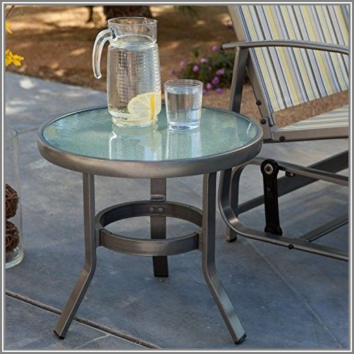 Coral Coast 20 In Patio Side Table