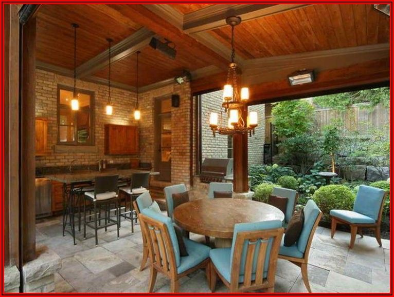 Covered Back Patio Design Ideas