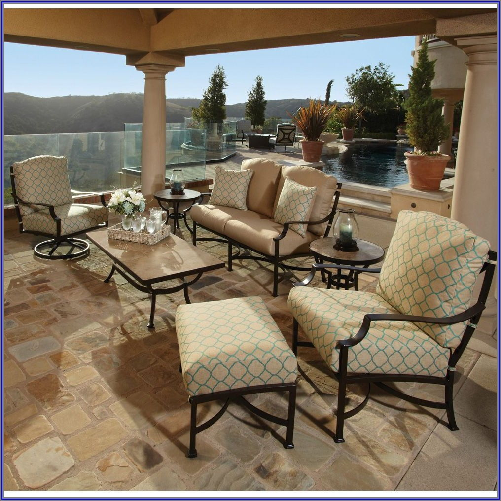 Crescent Rocker Patio Set