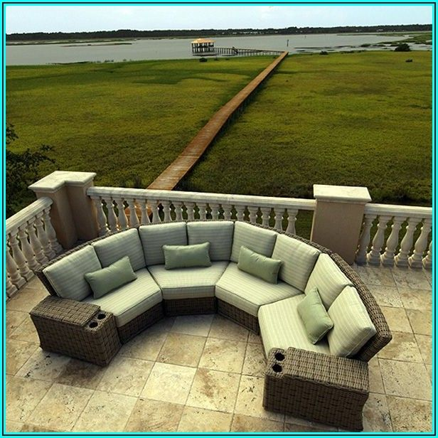 Crescent Shaped Patio Furniture
