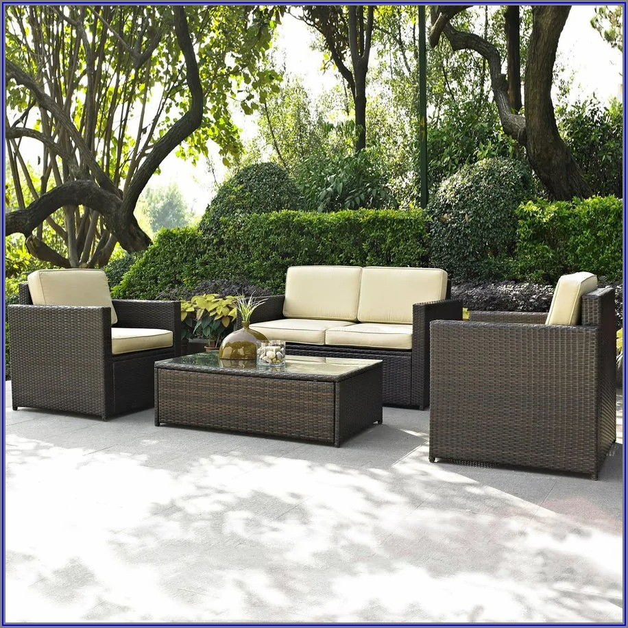 Crosley Palm Harbor Wicker Patio Furniture Collection