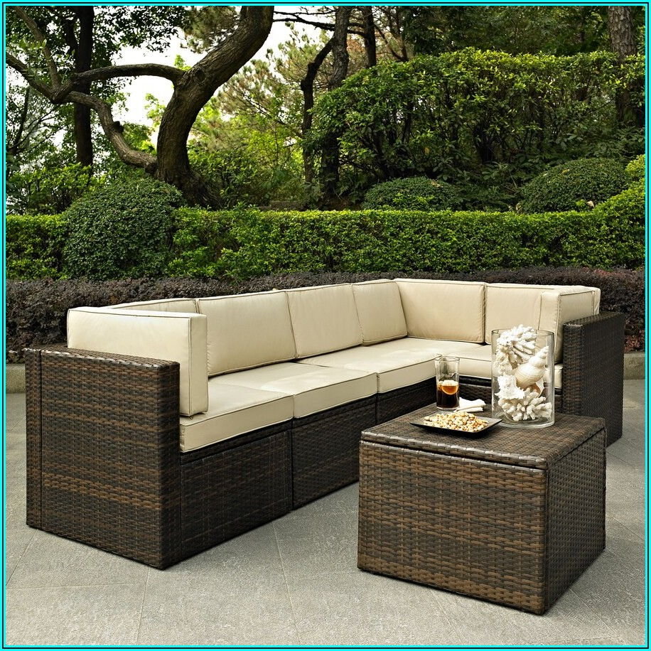 Crosley Palm Harbor Wicker Patio Furniture