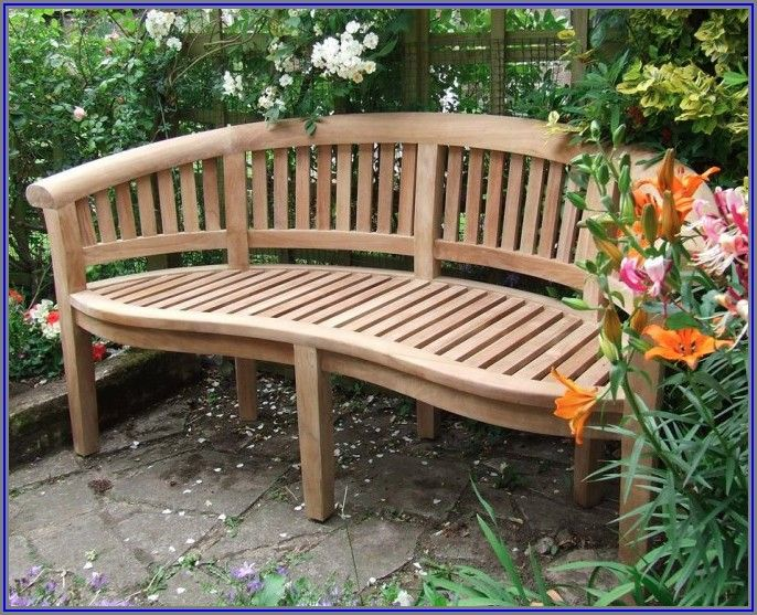 Curved Patio Bench Cushions