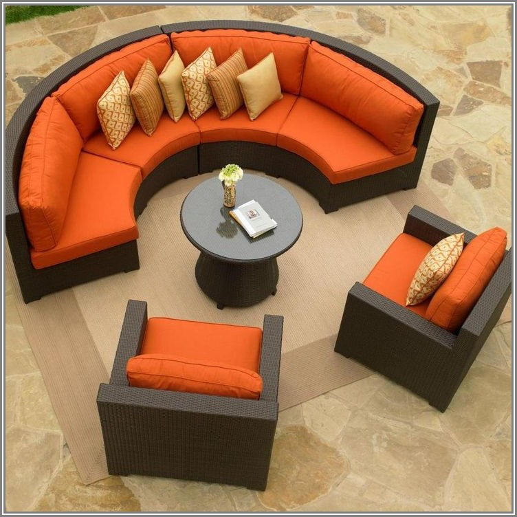 Cushions For Curved Patio Furniture
