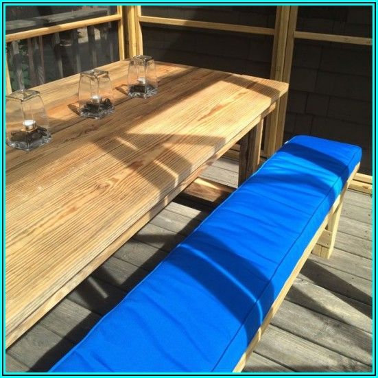 Custom Patio Bench Cushions