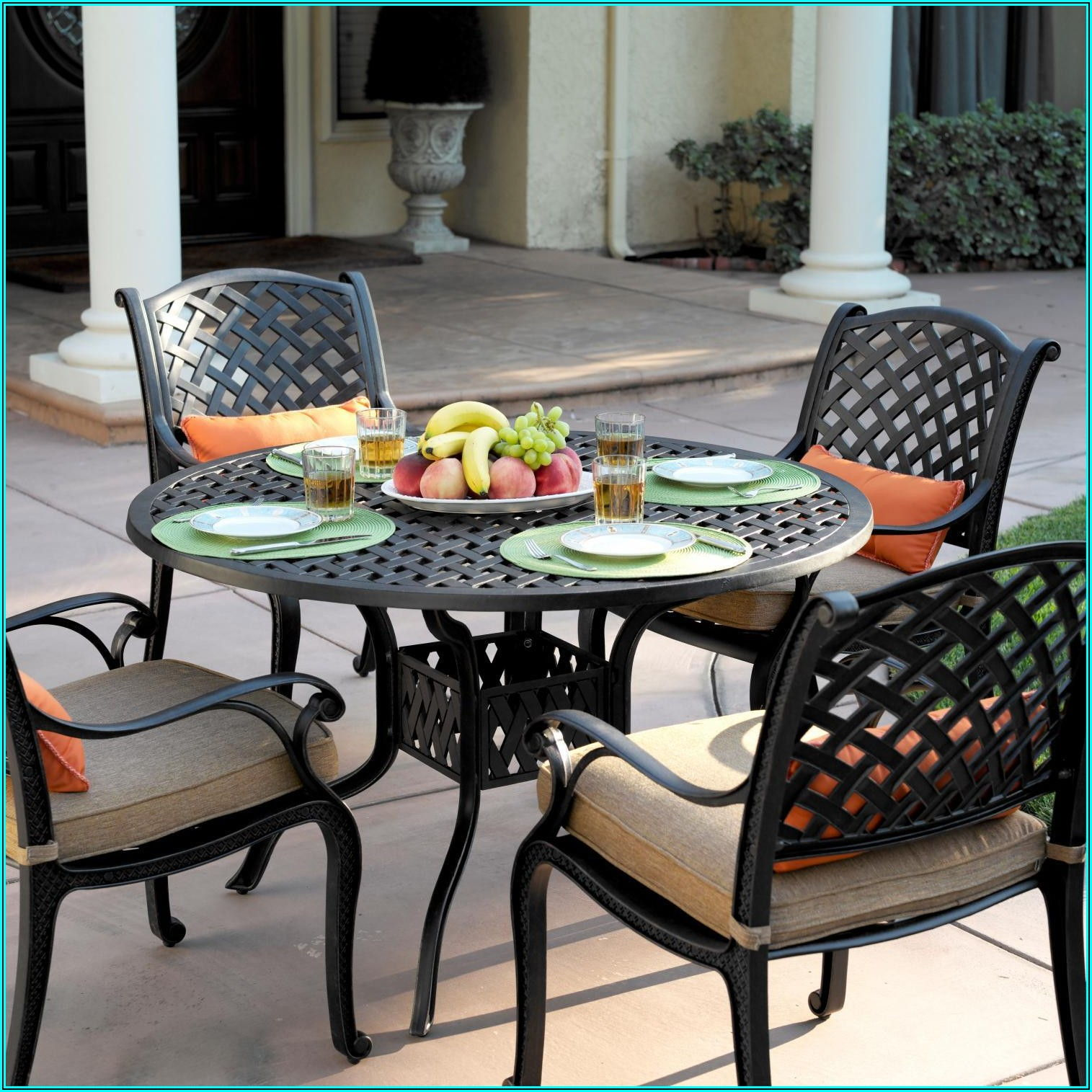 Darlee 9 Piece Aluminum Patio Dining Set