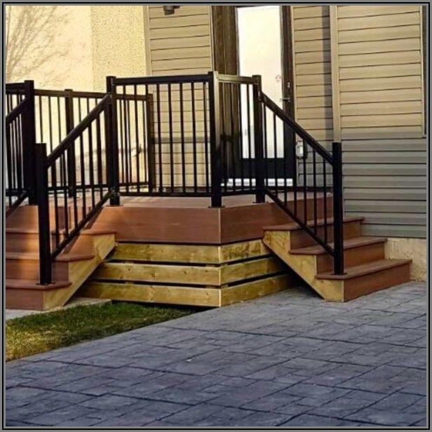 Deck Railing For Concrete Patio
