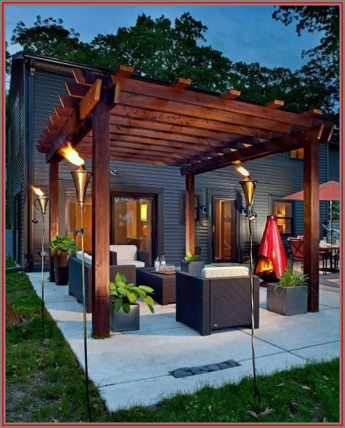 Deck Small Outdoor Patio Ideas