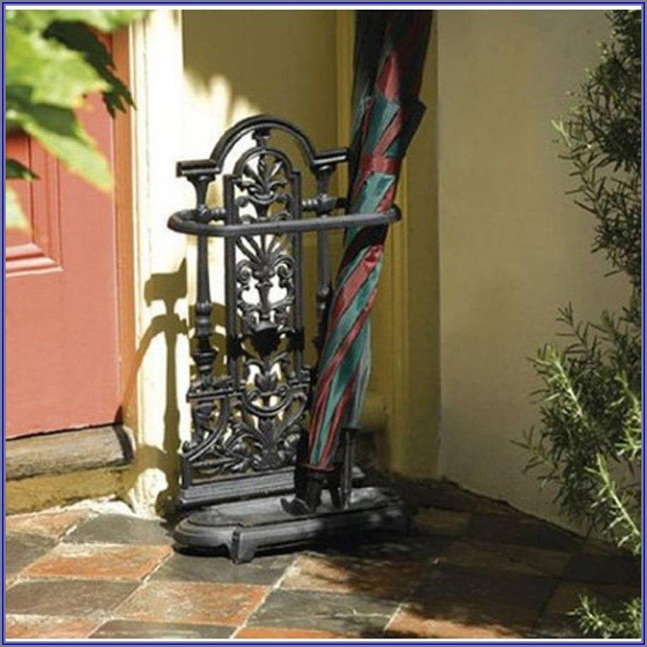 Decorative Patio Umbrella Stand
