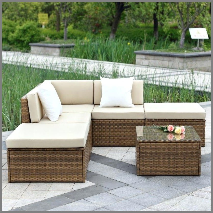 Deep Seating Patio Sectional
