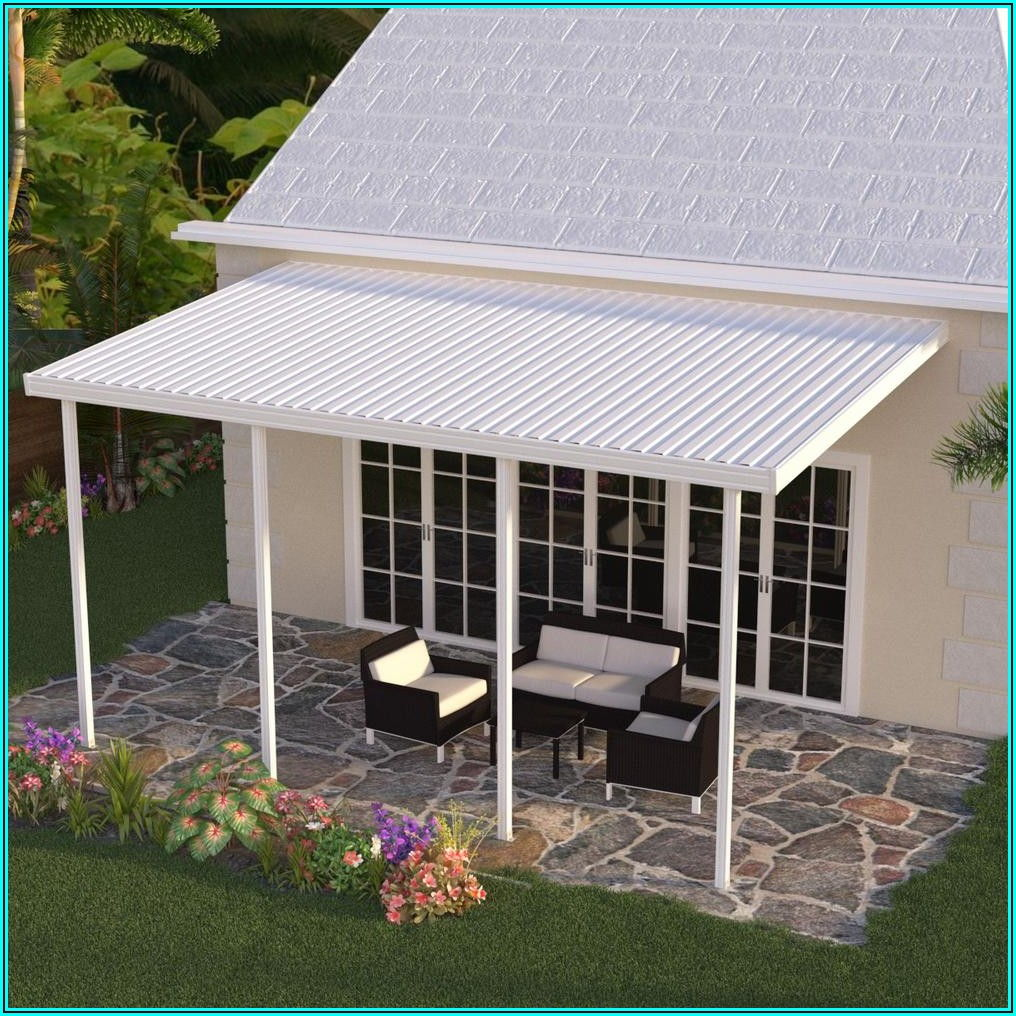 Detached Patio Cover Kits