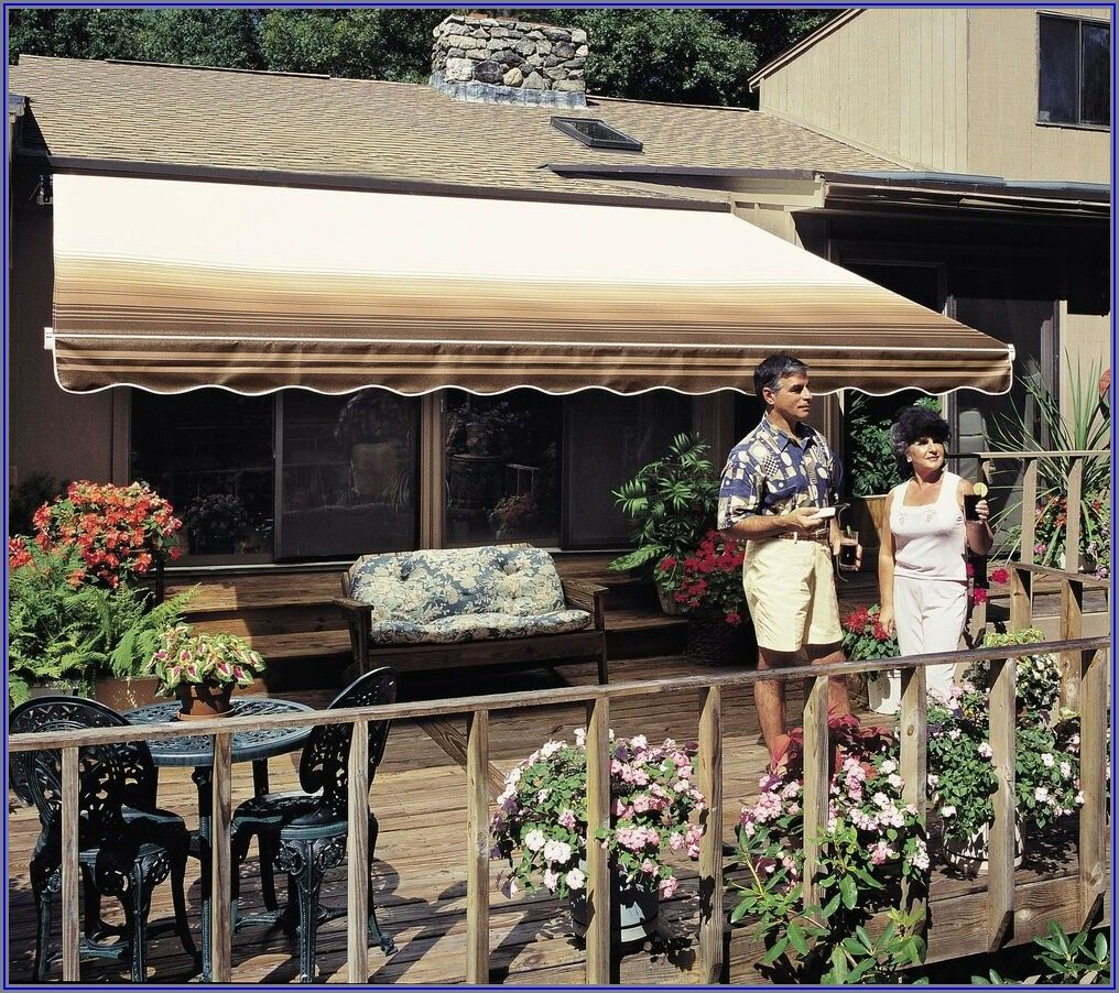 Diensweek 12 X10 Patio Awning Retractable Manual