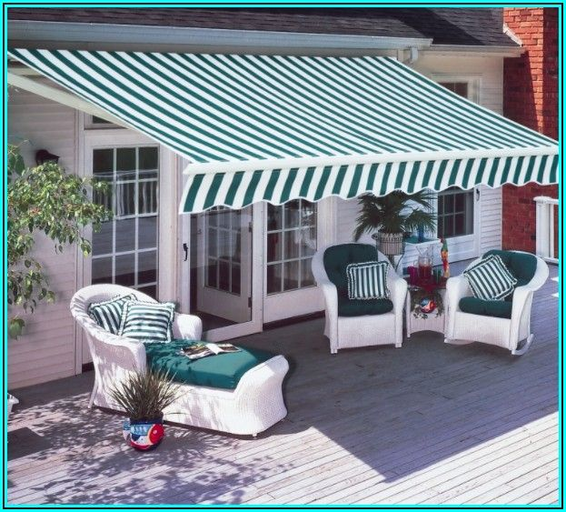 Diensweek Patio Awning Retractable