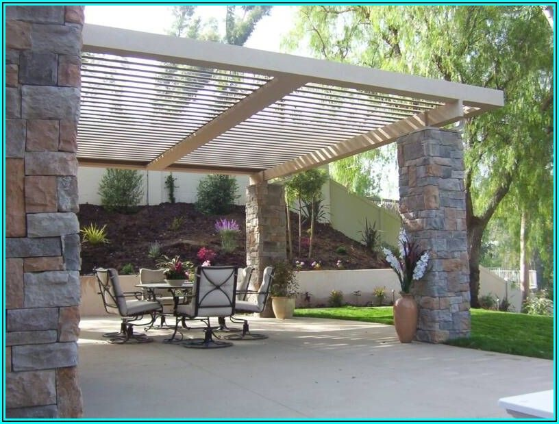 Diy Adjustable Louvered Patio Cover
