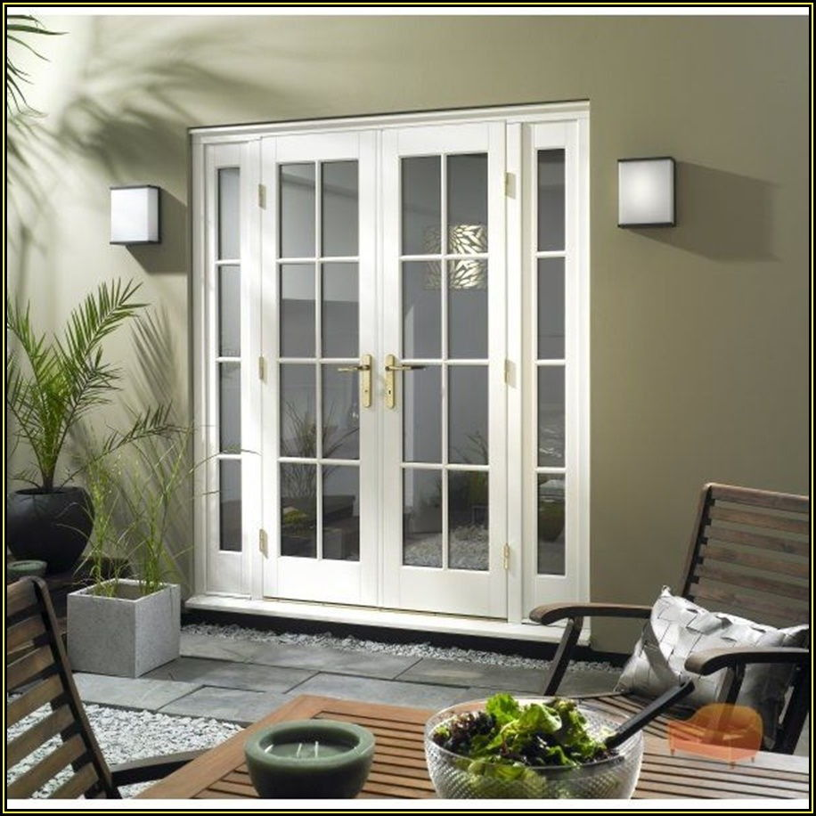 Double French Patio Doors With Sidelights