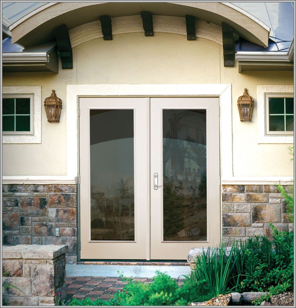 Double Outswing Patio Doors