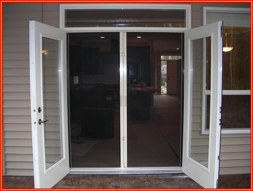 Double Patio Doors That Both Open