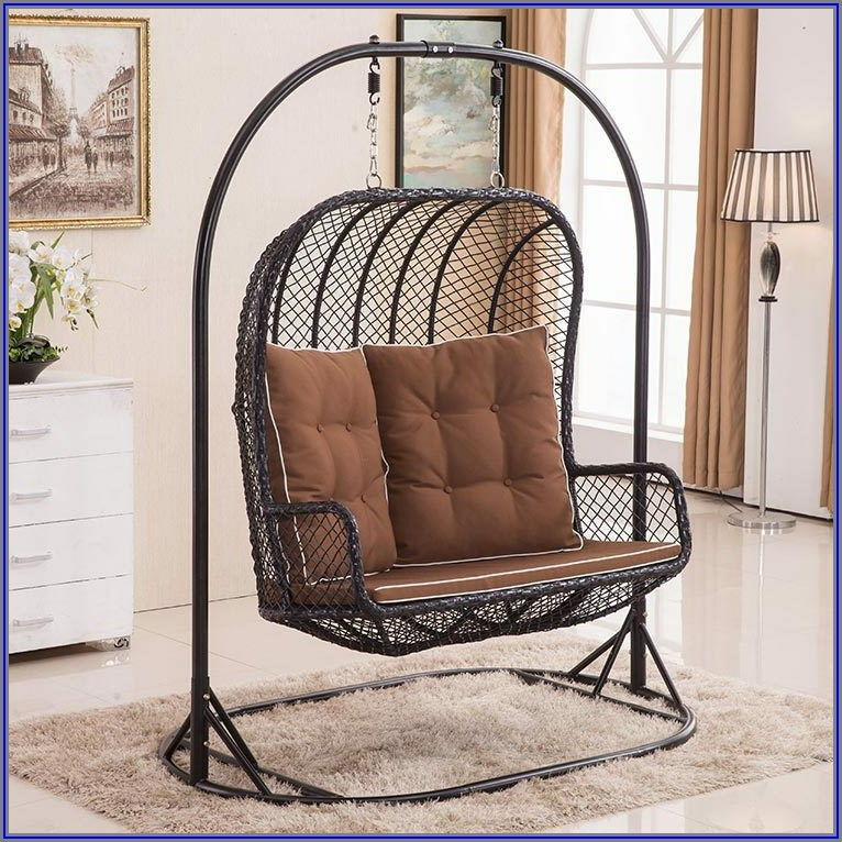 Double Patio Swing Chair