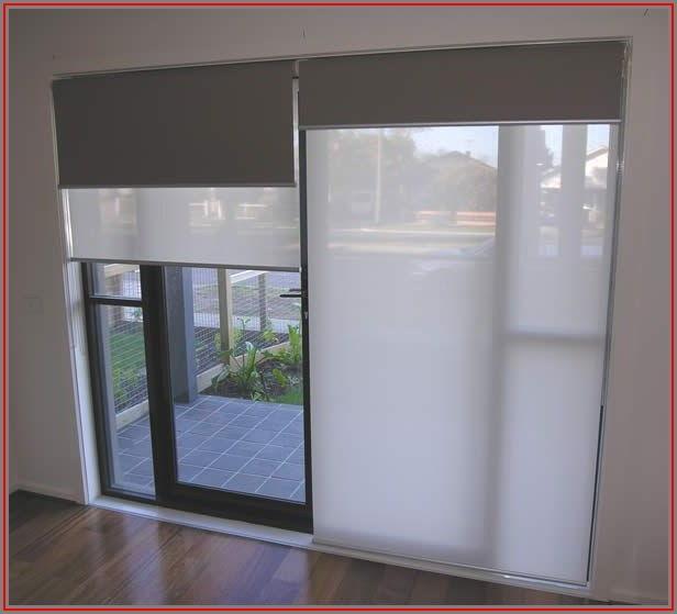 Double Roller Blinds For Patio Doors