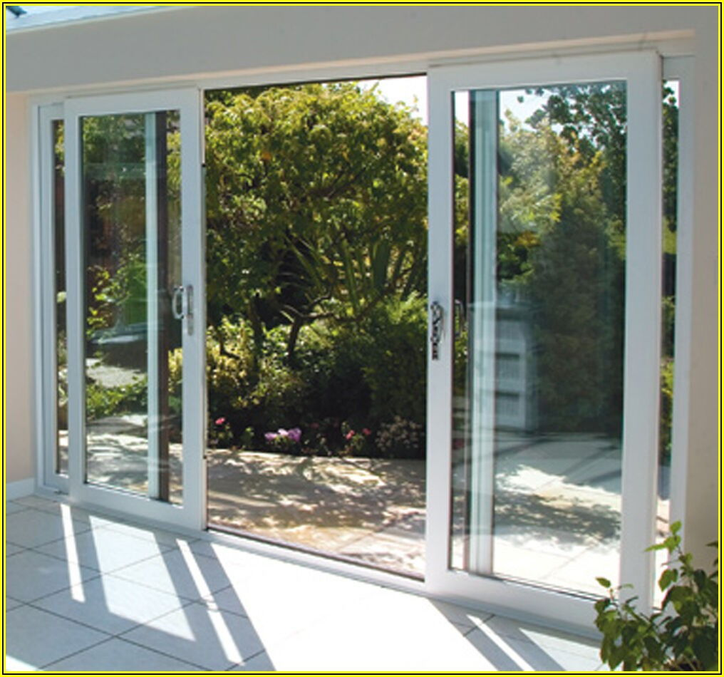 Double Sliding Patio Doors With Screens