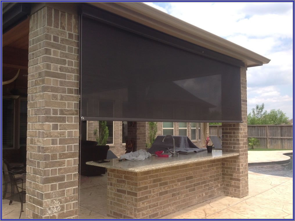 Drop Down Shades For Patios