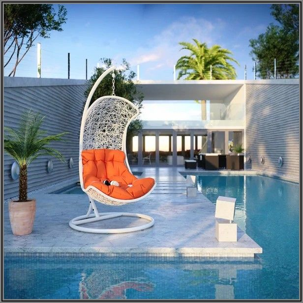 Endow Rattan Outdoor Wicker Patio Swing Cha