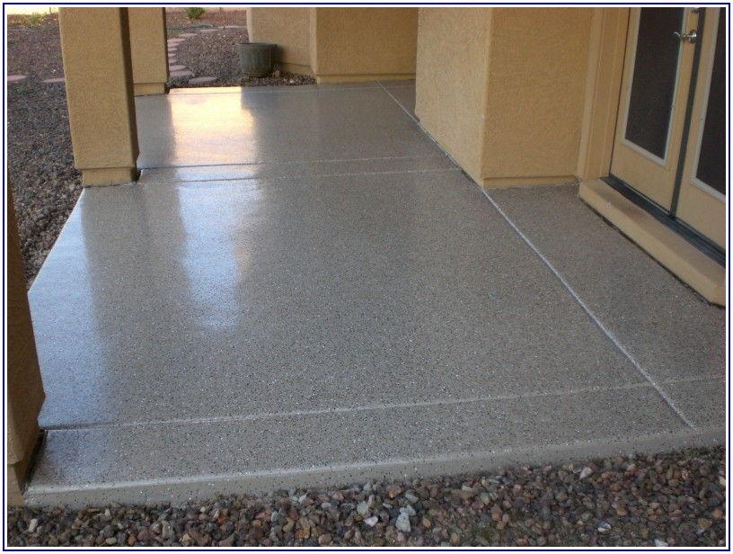 Epoxy Coating For Concrete Patio