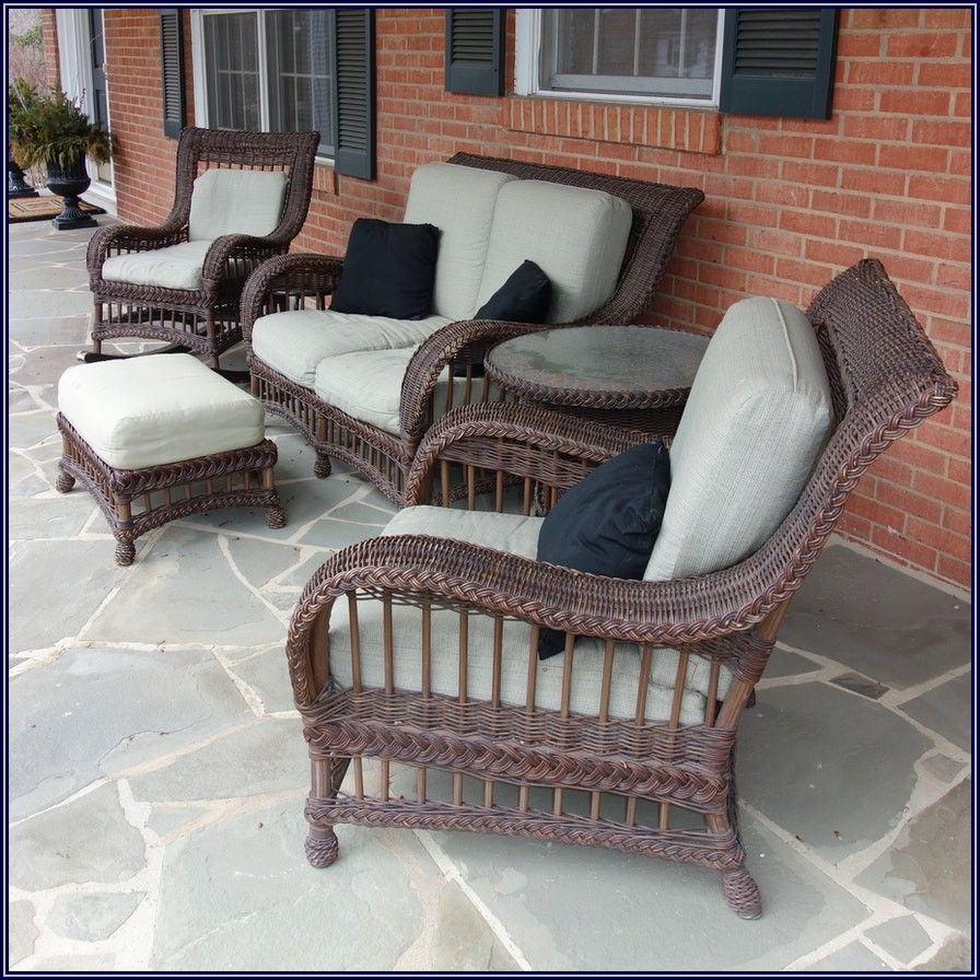 Ethan Allen Wicker Patio Furniture
