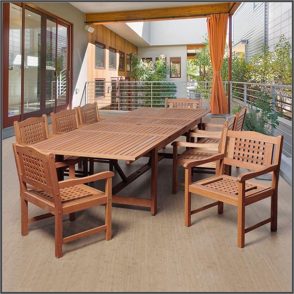Eucalyptus Outdoor Patio Furniture