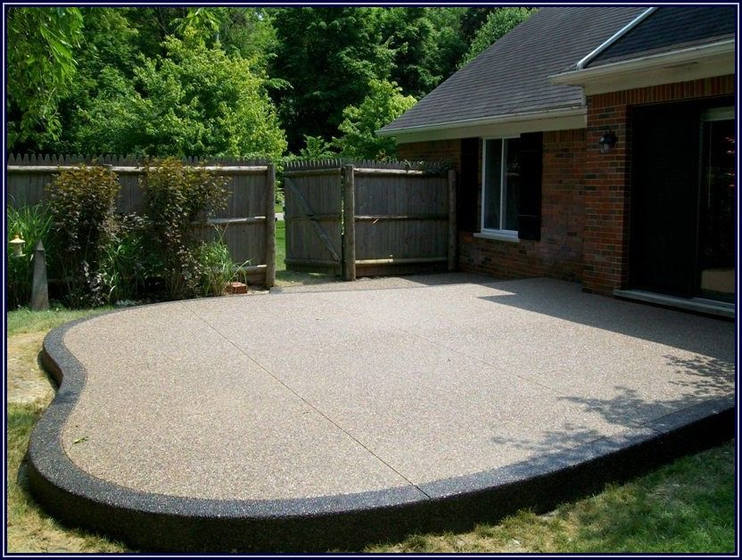 Exposed Aggregate Concrete Patio Pictures