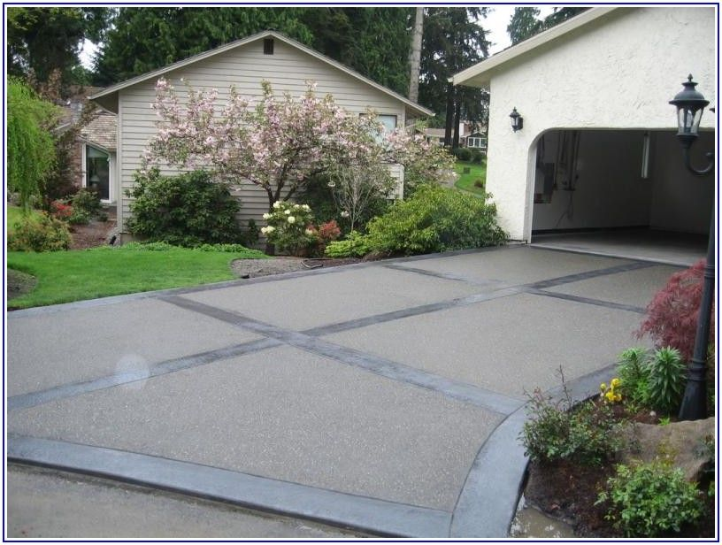 Exposed Aggregate Patio Ideas