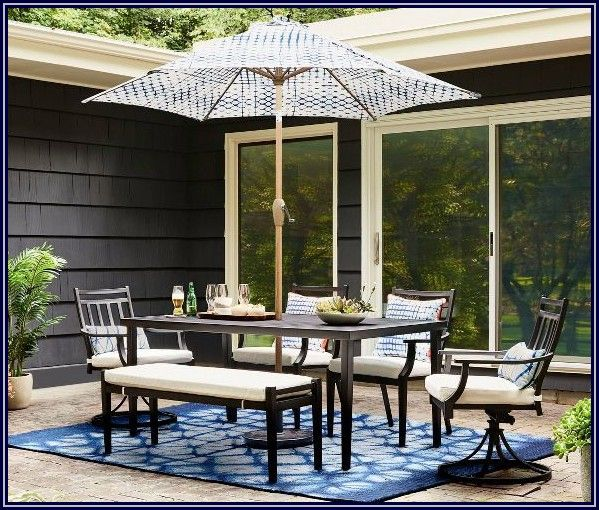 Fairmont 6pc Patio Dining Set Threshold