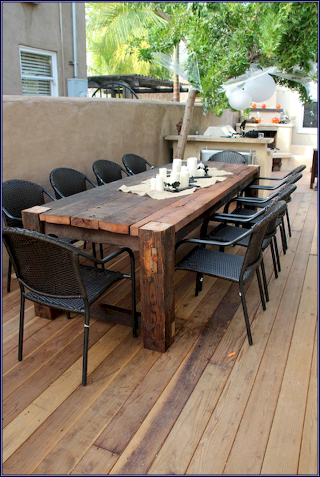 Farmhouse Patio Table And Chairs