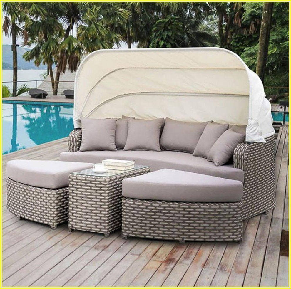 Faux Wicker Patio Set