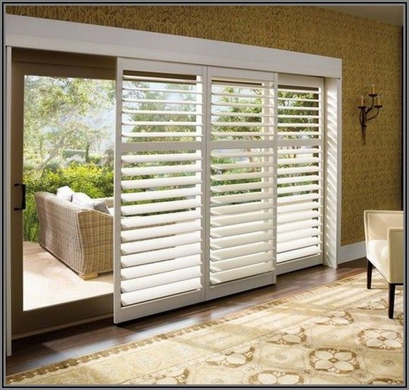 Faux Wood Blinds For Patio Doors
