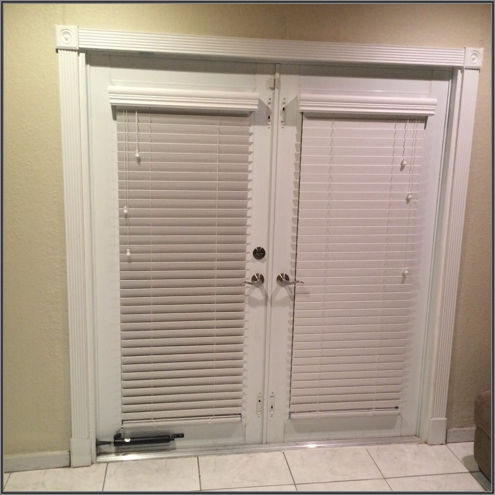 Faux Wood Horizontal Blinds For Patio Doors
