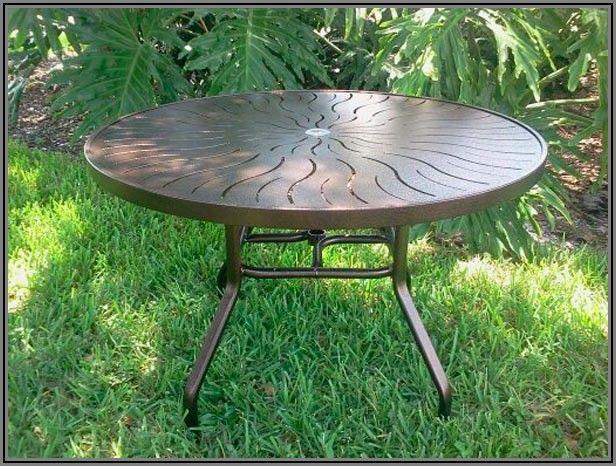 Fiberglass Patio Table Top Replacement