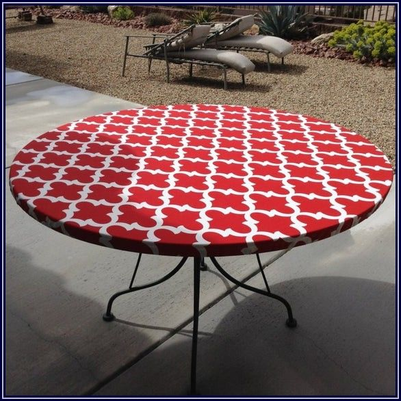 Fitted Patio Table Tablecloths