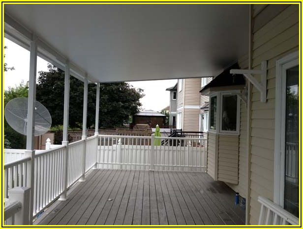 Fixed Frame Patio Awnings