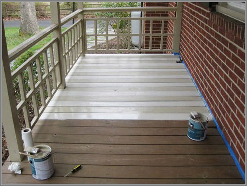 Floor And Patio Paint Colors