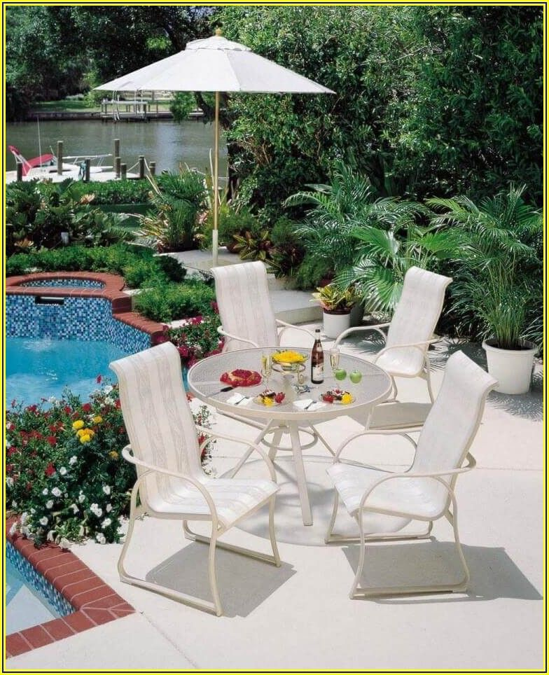 Fortunoff Cast Aluminum Patio Furniture