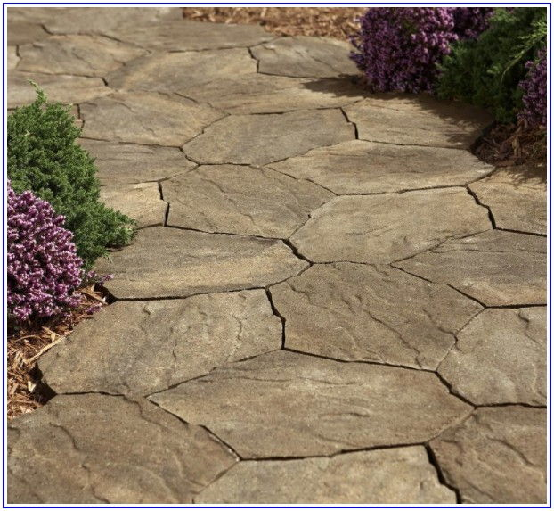 Four Cobble Concrete Patio Stone