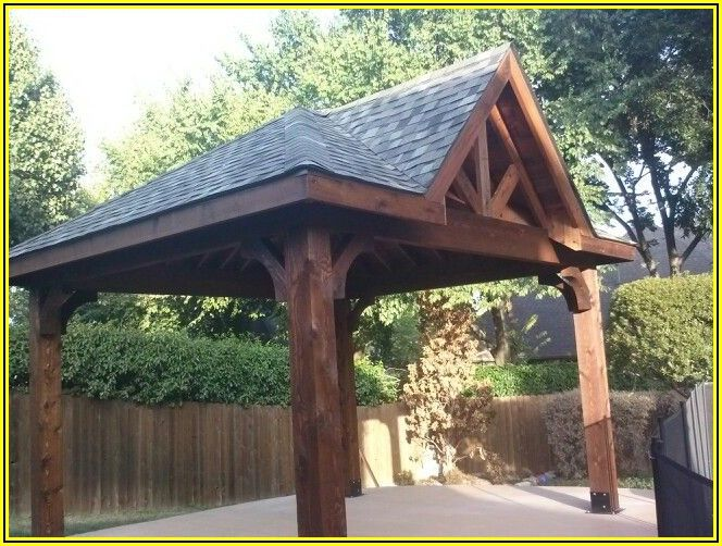 Free Standing Hip Roof Patio Cover